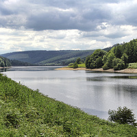 Buy canvas prints of Derwent Reservoir by Matthew Bates