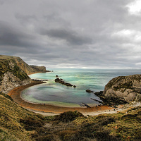 Buy canvas prints of Dorset Cove by Matthew Bates