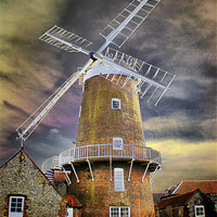 Buy canvas prints of Cley Windmill by Jules Camfield