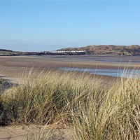 Buy canvas prints of Broughton Gower Pano by Dan Davidson