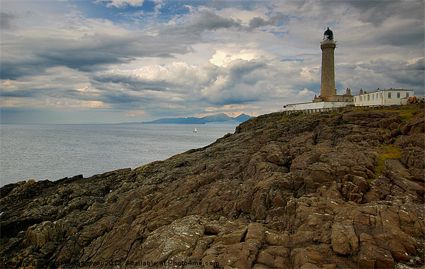 Ardnamurchan Point Canvas print by R K Photography