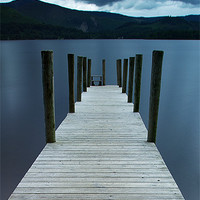 Buy canvas prints of Derwent Water-Lake District by R K Photography
