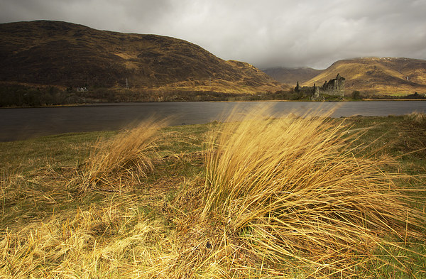 Kilchurn Castle Framed Mounted Print by R K Photography