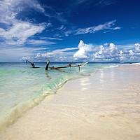 Buy canvas prints of  Saona Beach by R K Photography