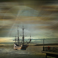Buy canvas prints of Dream Traveller by Heather Goodwin