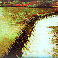 Buy canvas prints of Fast Flowing Water by Heather Goodwin