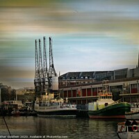 Buy canvas prints of Bristol Docks by Heather Goodwin