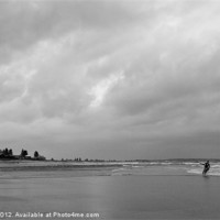 Buy canvas prints of Kite Surf by Bec Trinick