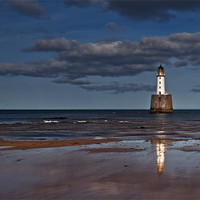 Buy canvas prints of Rattray Head Lighthouse by alan bain