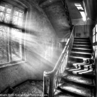 Buy canvas prints of Evening urbex by Nathan Wright