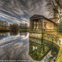 Buy canvas prints of Round reflections by Nathan Wright