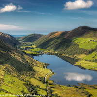 Buy canvas prints of Tal y llyn reflection by Rory Trappe