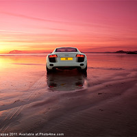 Buy canvas prints of R8 on a beach by Rory Trappe