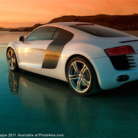 Buy canvas prints of R8 on the beach 2 by Rory Trappe