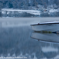 Buy canvas prints of Rowing boat by Rory Trappe