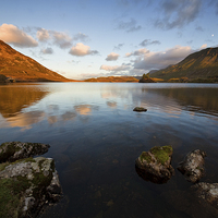 Buy canvas prints of Cregennan lake by Rory Trappe