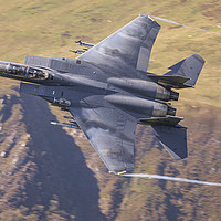 Buy canvas prints of USAF F15-E Low Level by Rory Trappe