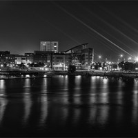 Buy canvas prints of Cardiff bay by Rory Trappe