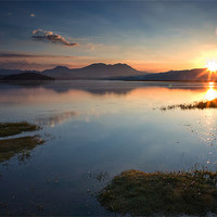 Buy canvas prints of Ynys Sunrise - North Wales by Rory Trappe