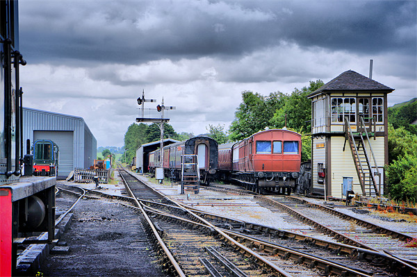 Embsay Station Canvas print by Jacqui Kilcoyne