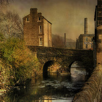 Buy canvas prints of Old Mills by Irene Burdell