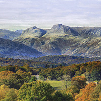 Buy canvas prints of Lake District by Irene Burdell
