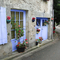 Buy canvas prints of French Village by Irene Burdell