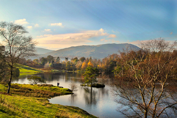 The Lake District. Canvas print by Irene Burdell