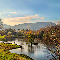 Buy canvas prints of The Lake District. by Irene Burdell