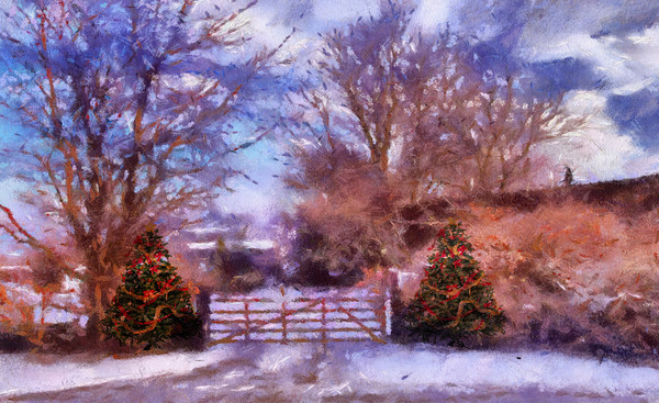 Christmas Time . Canvas print by Irene Burdell