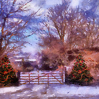 Buy canvas prints of Christmas Time . by Irene Burdell