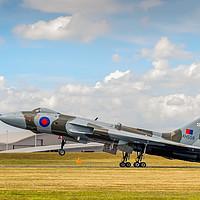 Buy canvas prints of Avro Vulcan XH558 'The Spirit Of Great Britain' by Steve Liptrot