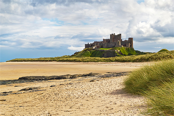 Bamburgh Castle Canvas print by Kevin Tate