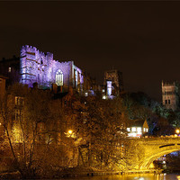 Buy canvas prints of Durham Lumiere by Kevin Tate
