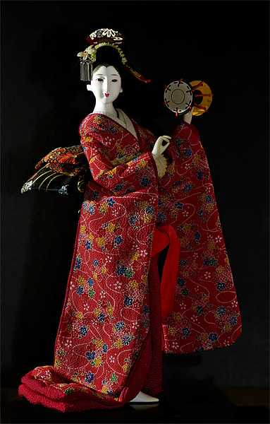 Japanese Doll Canvas print by Kevin Tate