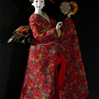 Buy canvas prints of Japanese Doll by Kevin Tate