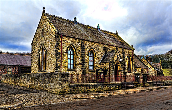 Pithill Methodist Church Canvas print by Kevin Tate