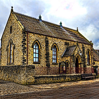 Buy canvas prints of Pithill Methodist Church by Kevin Tate