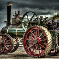 Buy canvas prints of Traction Engine PT1916 by Kevin Tate