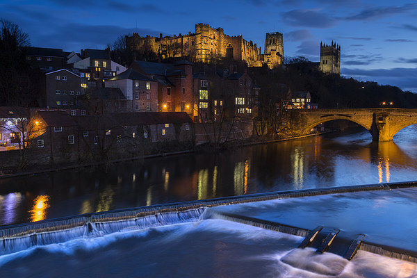 Durham Castle Canvas print by Kevin Tate