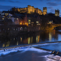 Buy canvas prints of Durham Castle by Kevin Tate