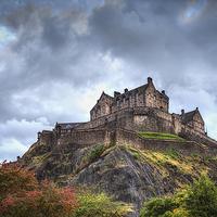 Buy canvas prints of Edinburgh Castle by Kevin Tate