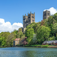 Buy canvas prints of Durham Cathedral by Kevin Tate