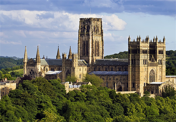 Durham Cathedral Canvas print by Kevin Tate
