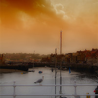 Buy canvas prints of whitby harbour by Northeast Images Daniel Dent