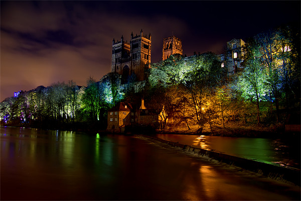 Durham Lumiere Canvas print by Northeast Images Daniel Dent