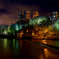 Buy canvas prints of Durham Lumiere by Northeast Images Daniel Dent