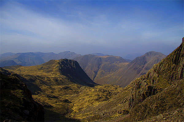 Scafell Pike Canvas print by Northeast Images Daniel Dent