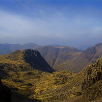 Buy canvas prints of Scafell Pike by Northeast Images Daniel Dent