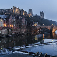 Buy canvas prints of Durham Cathedral by Northeast Images Daniel Dent